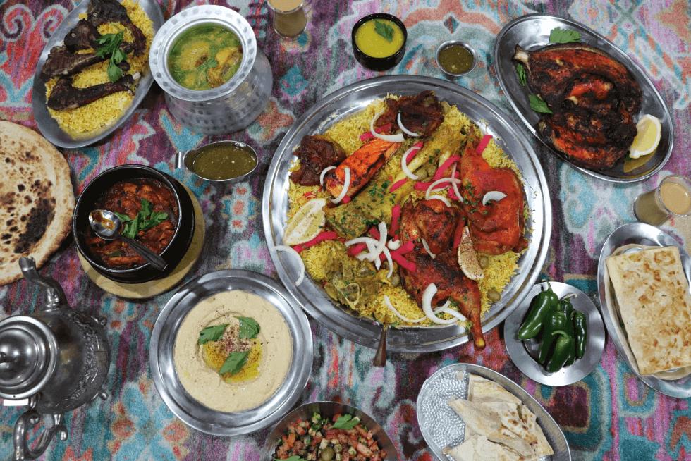 Shibam Yemeni Kitchen Family Spread