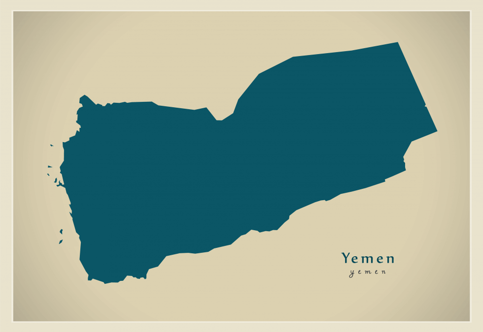 shape of Yemen