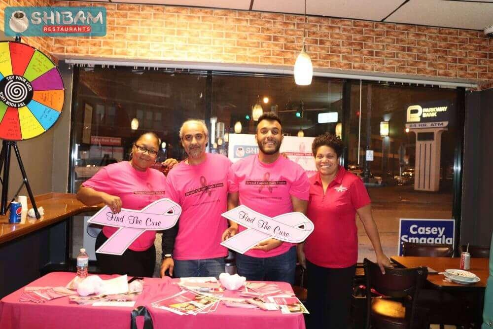 Shibam Yemeni Kitchen Breast Cancer Awareness