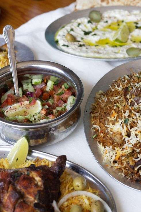 Shibam Restaurants Breakfast